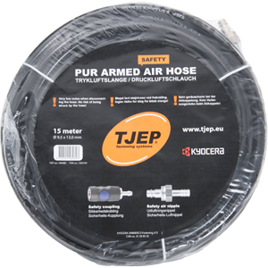 Safety PUR armed air hose